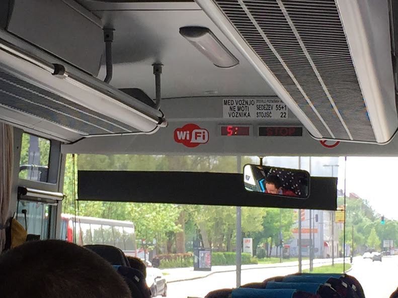 リュブリャナ バス