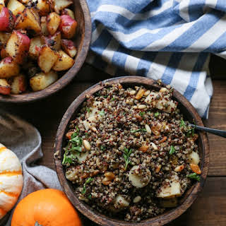 Indian-Spiced Lentil and Quinoa Stuffing.