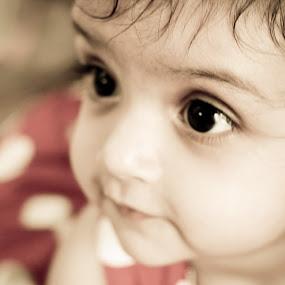 by Aditi Dinakar - Babies & Children Babies ( canon, wedding, babycloseup, baby, aditi )