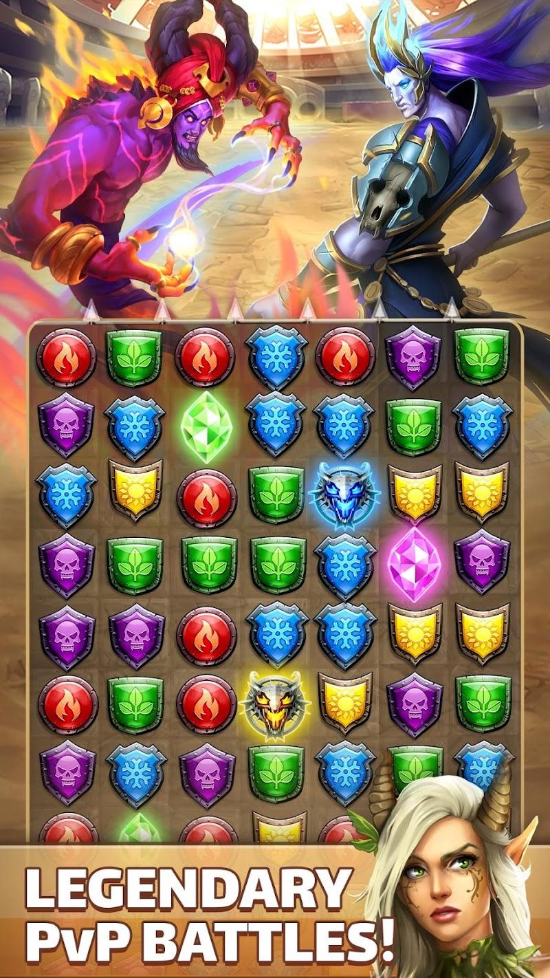 Empires & Puzzles: RPG Quest Screenshot 2