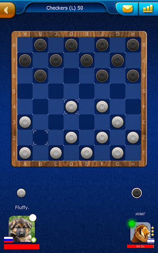 Checkers LiveGames - free online game 3.86 10