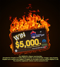 Photo: Win $5,000 in Mopar Money from the 12 participating Dodge Dealers