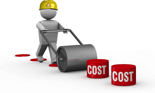man flattening costs to reduce them