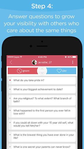 玩免費遊戲APP|下載Sapio — Dating Evolved app不用錢|硬是要APP