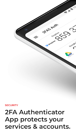 2FA Authenticator (2FAS) screenshot 1