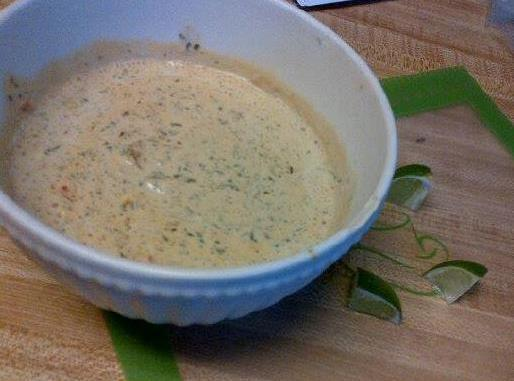 Fresh Cilantro And Pepper Dipping Sauce Recipe