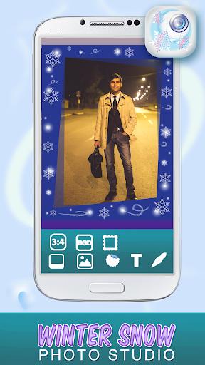 冬写真編集アプリ