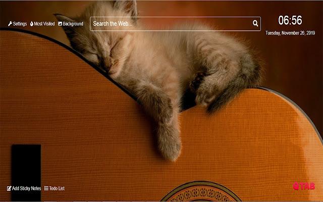 Cute Kitten Wallpapers Cute Kitten New Tab HD