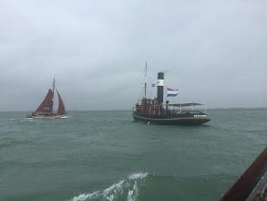 Photo: Foto: I. Brockhoff Zondag, op weg om de finish van de Tour te bekijken wordt het weer steeds slechter