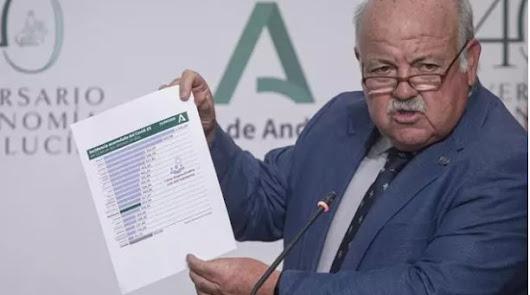 La Junta avisa: si la curva crece pedirá el toque de queda para toda Andalucía