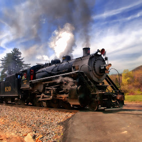Trains are for children of all ages! by Steven Faucette - Transportation Trains (  )