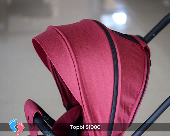 Xe đẩy cao cấp 2 chiều Topbi S1000 22