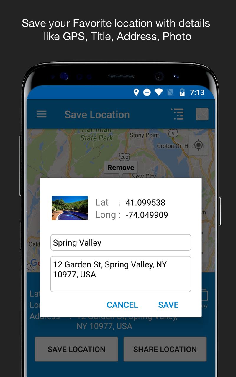 Save Location GPS Screenshot 6