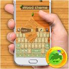 Wood Theme Keyboard icon