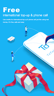 ToTalk – Secure and Free Calls & Top-up 1