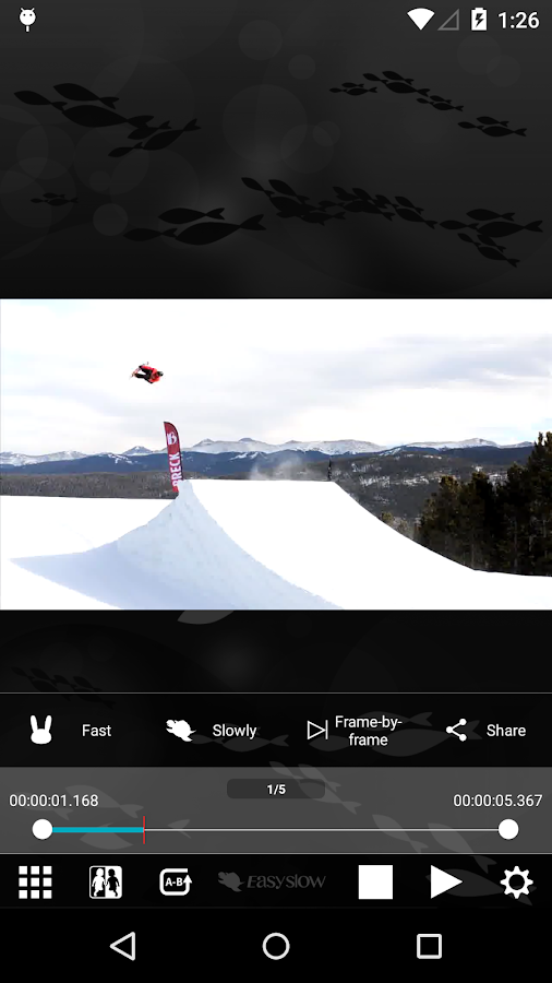EasySlow - VideoPlayer- screenshot
