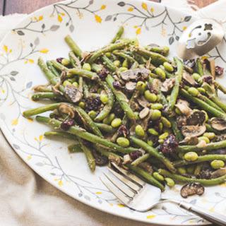 Vegan Miso Green Bean Casserole.