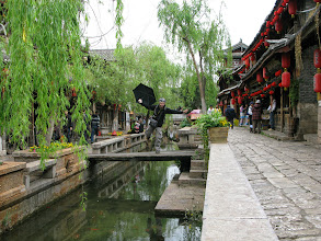 Photo: Water channels in Old Lijiang.