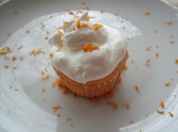 Creamcicle Cupcake. Recipe