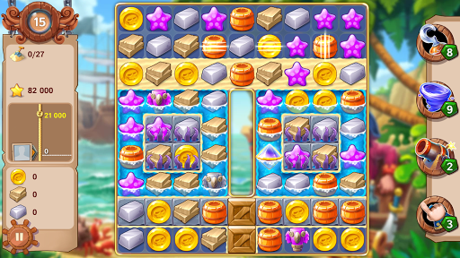 Pirates & Pearls™: A Treasure Matching Puzzle for PC
