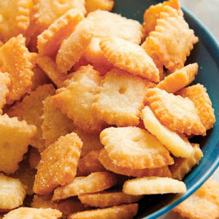 Parmesan Cheese Crackers