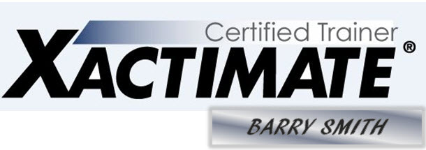 Xactimate Certified Trainer Barry Smith Dallas June 2018