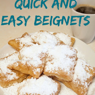 Quick And Easy Beignets.