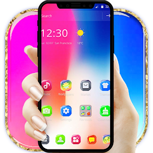 Neon Theme for iPhone X Dreamer