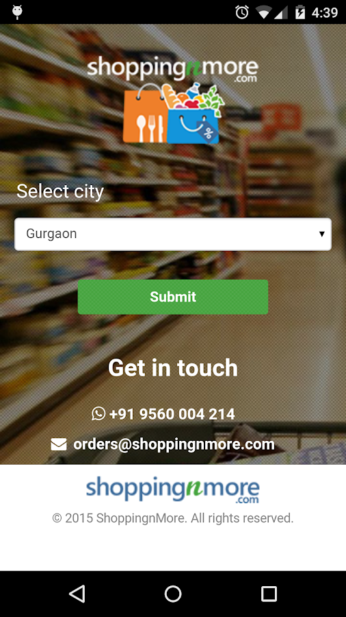 shoppingnmore- screenshot