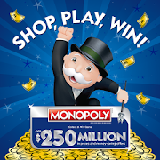 Shop, Play, Win!® MONOPOLY icon