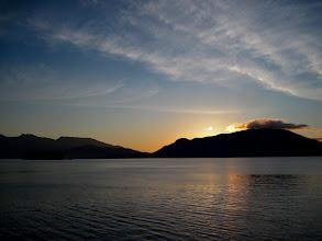 Photo: Sunrise over Bowen Island, Howe Sound, BC, Canada