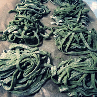 Spinach Pasta Dough Recipe
