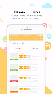 HarkHark - Asian food delivery & travel coupon- screenshot thumbnail