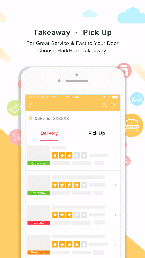 HarkHark - Asian food delivery & travel coupon- screenshot