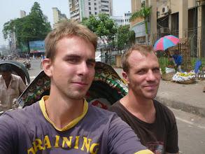 Photo: Jakožto správní cestovatelé si nenecháváme jízdu na rikše ujít.