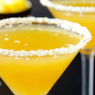 Pineapple Champagne Martini.