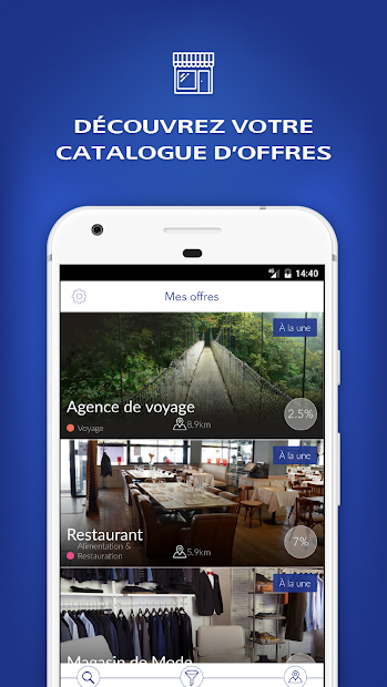 Avantage+ LCL Android App Screenshot