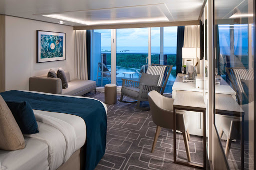 celebrity-edge-Sky-Suite.jpg -  There are 146 Sky Suites aboard Celebrity Edge measuring 298 to 418 square feet.