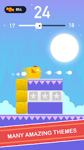 Square Bird – Tower Egg 4