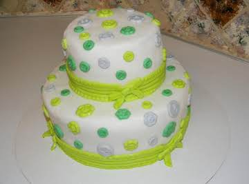 Buttons and Bows Cake