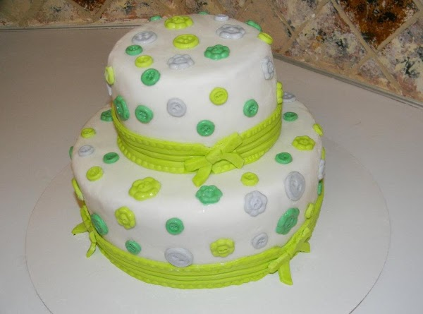 Buttons And Bows Cake Recipe