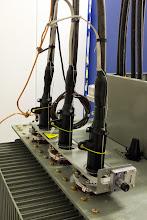 Photo: Transformateur - Arrivée HT 20000V #datacenter #reims (Visite de chantier 11.12.2014)