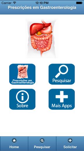 Prescrições Gastroenterologia