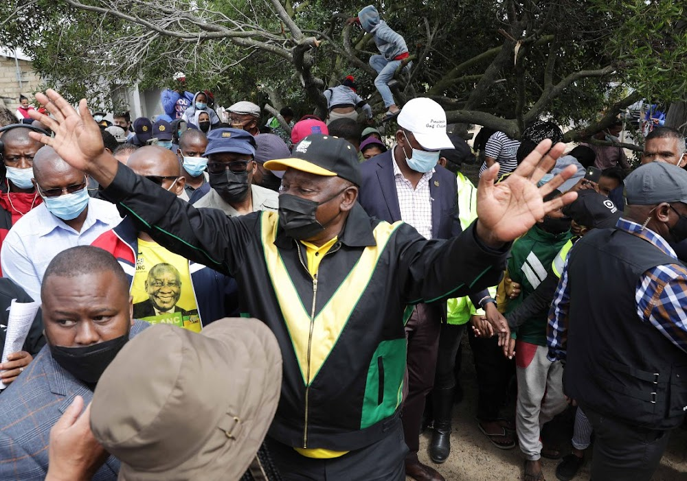 Don't abandon ANC 'family' because of electricity problems, Ramaphosa tells voters threatening to boycott elections - TimesLIVE