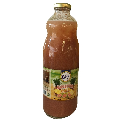 jugo quidy nectar de guayaba y pina 1lt