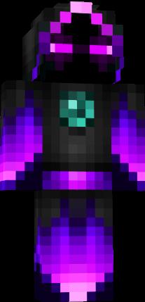 Creeper Girl Wallpaper Hd Ender Wizard Nova Skin
