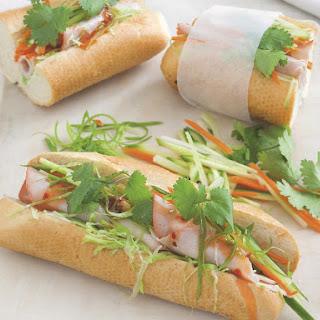 Bánh Mì Vietnamese Sandwiches.