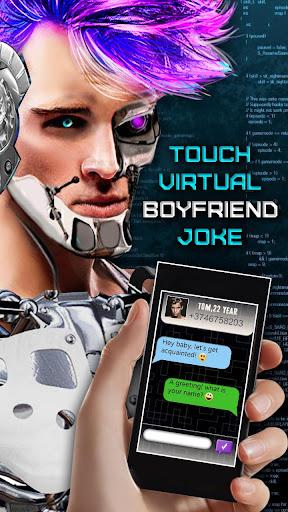 觸摸虛擬男友笑話