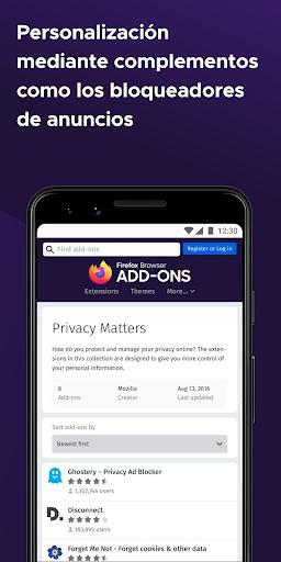 Firefox: el navegador web rápido y privado screenshot 7