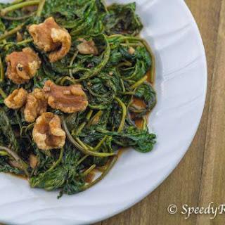 Adobong Kangkong (Water Spinach Adobo).